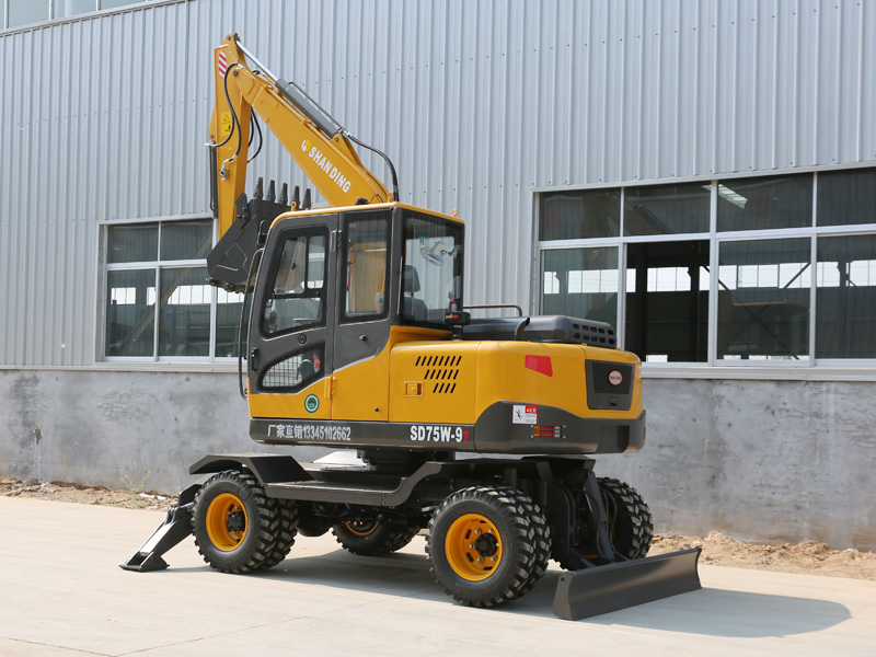 泉州75轮式小型挖掘机品牌