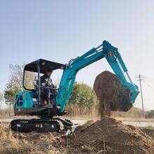 果園微型挖掘機 甜橙園拔草的小型挖掘機 報價大全圖片
