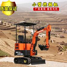 北京環保12D小型挖掘機定制 輪式挖掘機 出廠價格圖片