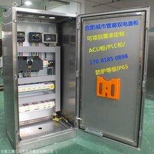 城市管廊雙電源柜等級IP65 不間斷電源UPS及成套PLC電控柜