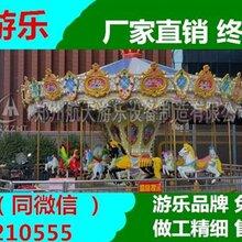 郑州现货16座24座转马旋转木马设备生产 在线免费咨询图片