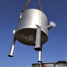 蘇州全自動二手螺旋換熱器圖片