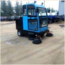 工厂便捷小型扫路车宜悦道路电动扫路车驾驶室式电动扫路车货到付款图片