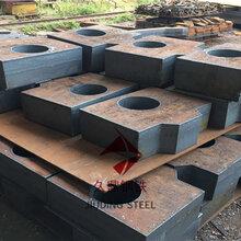 上海45号碳板切割宽厚板,容器板切割下料图片