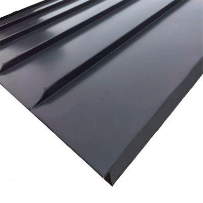 0.8mm厚矮立邊YX25-400 矮立雙鎖邊鋁鎂錳