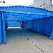 常德折叠式大排档伸缩帐篷操作简单,折叠式推拉蓬图片