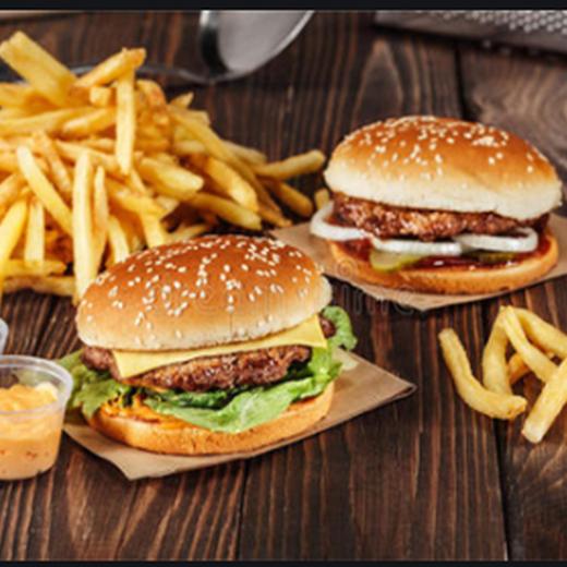 快餐漢堡加盟圖