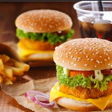 泰州快餐漢堡加盟總部地址,西餐炸雞漢堡圖片
