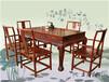 王義紅木紅酸枝紅木餐桌,臨沂精美緬花梨餐桌椅做工美觀