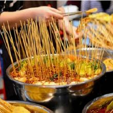 邢臺擺攤火鍋燒烤食材超市,燒烤火鍋自助圖片
