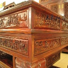 王义红木交趾黄檀衣柜,济南新款大红酸枝衣柜图片