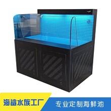 臨湘海鮮池制作廠家 超市活魚池定做