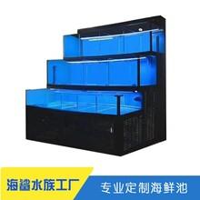 湘潭定制海鮮池廠家 兩層貝類池價格