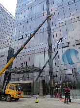 湘潭專業從事幕墻玻璃維修電話 服務至上圖片