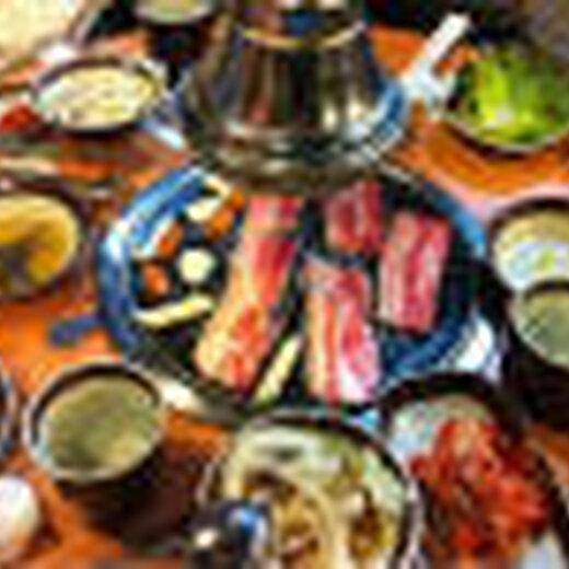 韓式烤肉燒烤圖