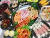 黔東南擺攤火鍋燒烤食材超市
