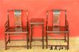 王義紅木大果紫檀桌椅,用料大大紅酸枝椅子大師設計