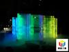 金华led装饰发光玻璃明晨三维科技 配合设计
