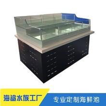 汝城海鮮池設計制作 玻璃可移動款
