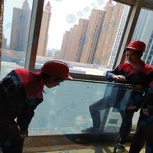 石家莊更換鋼化玻璃維修中空玻璃拆除安裝幕墻玻璃費用圖片