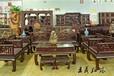全套紅酸枝材質沙發王義紅木緬花梨明式沙發濟寧紅木家具