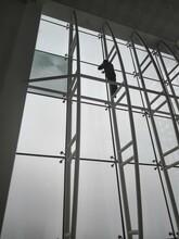 南昌幕墻玻璃開窗改造窗戶固定玻璃改平開窗價格圖片