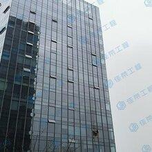 沈阳幕墙玻璃改窗户幕墙漏水维修玻璃更换安装专业的图片