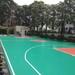 速瑞塑膠跑道,梅州速瑞學校硅pu丙烯酸籃球場網球場羽