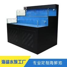 新化婁底海鮮池定做公司 雙層高密度養魚缸