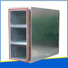 防城港供應折板式消聲器廠家直銷,微穿孔板消聲器圖片