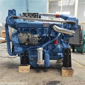 180马力R610ZLC船用柴油机 大马力六缸中冷增压柴油机