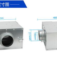 荊州供應靜音送風機質量可靠,單向流靜音風機圖片