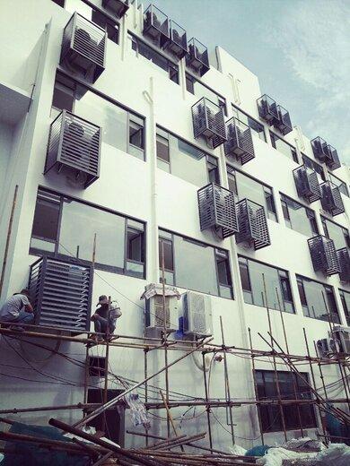 空调围挡铁艺批发空调罩铝合金百叶窗空调罩安装