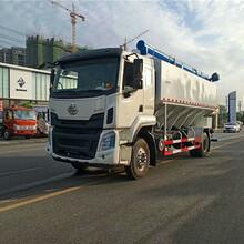 新国六30吨半挂饲料运输车图片