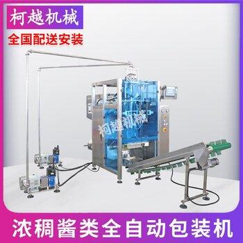 全自動轉子泵定量包裝機 火鍋濃稠醬料類稱重包裝機 膏體包裝機