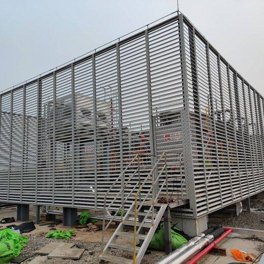 山西空调罩围挡格栅厂商空调围挡安装生产厂家