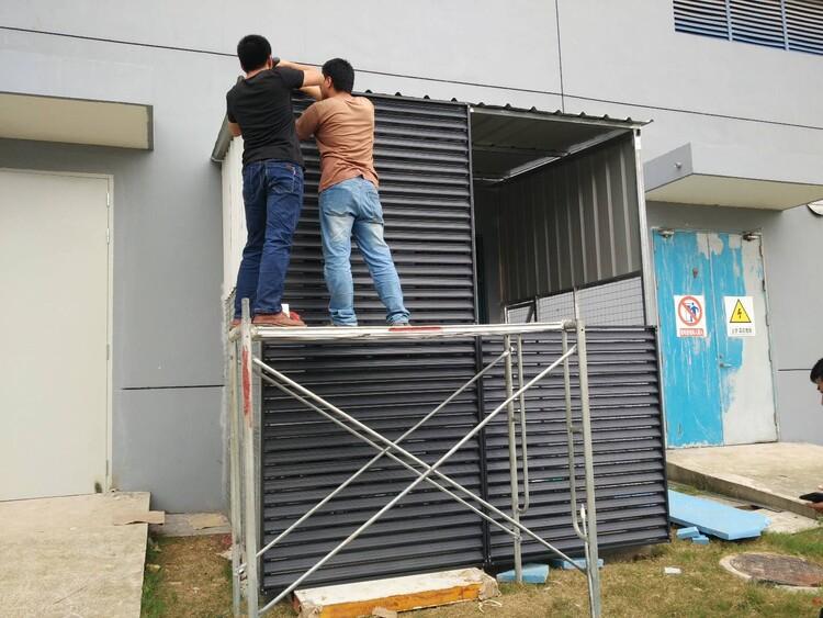 山西空调罩围挡格栅厂商