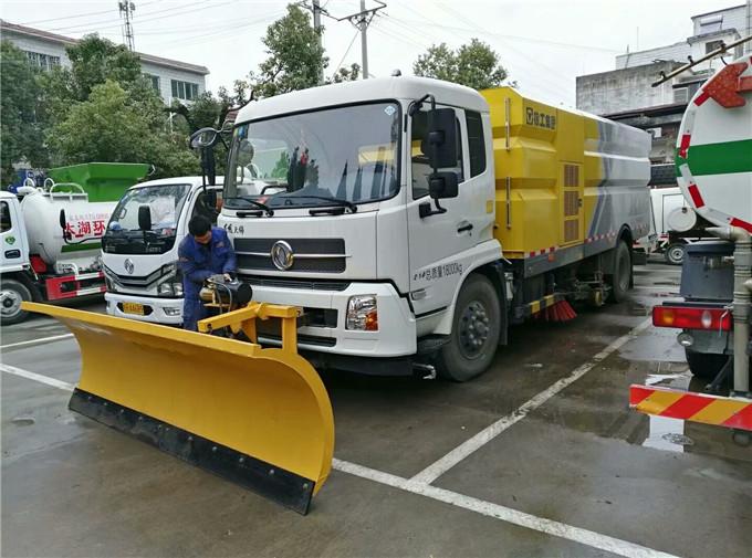 江铃5吨干洗扫车