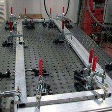 工業自動化工裝夾具 STG1039 非標定制多孔位工裝 自動焊接工裝