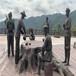 玻璃鋼公園人物雕塑玻璃鋼運動員雕像可信賴