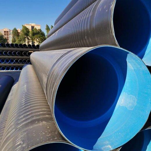 陽西HDPE三層壁復合增強管排水管詳情了解更多