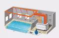 梧桐室內恒溫泳池水處理設備報價,空氣能熱泵