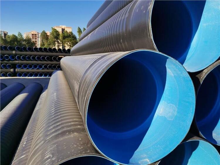 陽西HDPE三層壁復合增強管