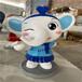 深圳新年吉祥物卡通雕塑定制厂家