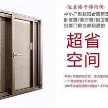 上海斷橋鋁新款106系列平移內倒窗專業加工生產廠家圖片