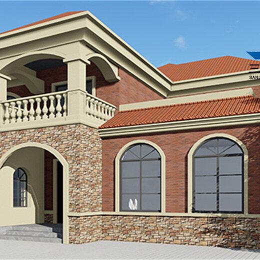 滄州農村翻房改造鋼結構住宅價格造價