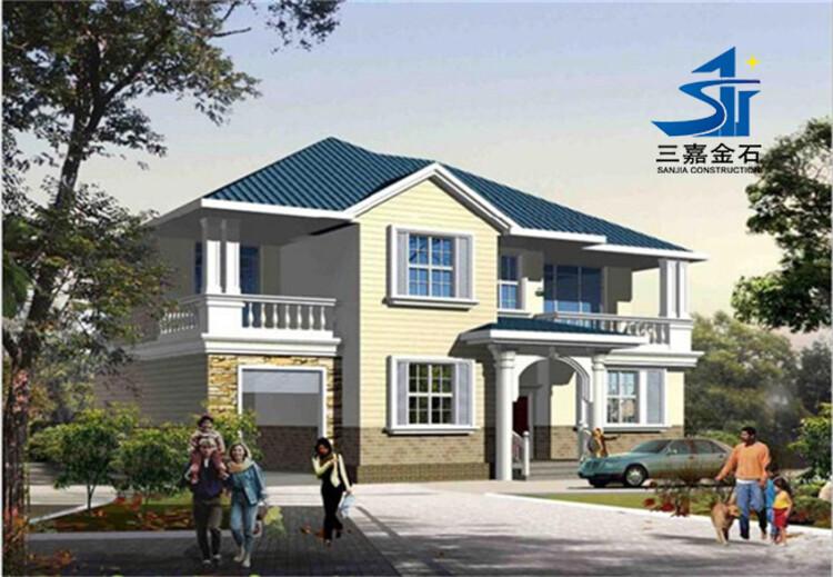 滄州農村翻房改造鋼結構住宅價格