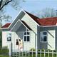 北京正規東三省鋼結構房屋輕鋼結構房子木別墅產品圖