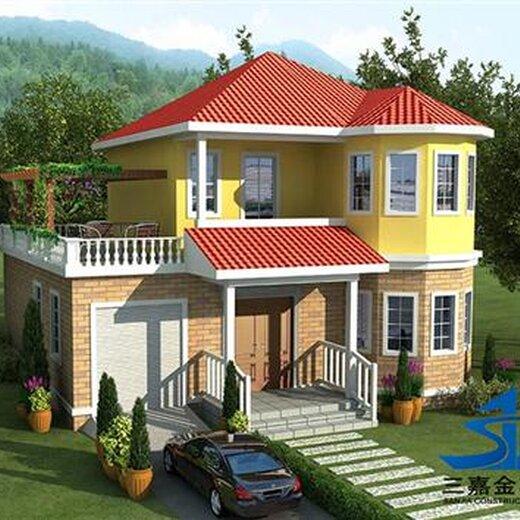 新款輕鋼-輕型木結構,農村翻房改造鋼結構