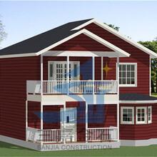 鋼結構房屋農村自建房承德拼裝房承德鋼構別墅規格圖片